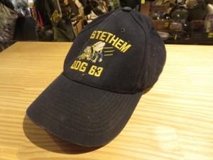 "U.S.NAVY Utility Cap ""USS STETHEM DDG-63"" used"