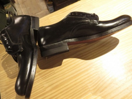 U.S.Dress Shoes Leather Oxford 1967年 size5XN new