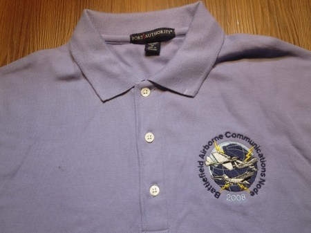 "U.S.Polo Shirt ""Battlefield Airborne~"" sizeM used"