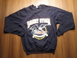 "U.S.Sweat ""DESERT STORM"" sizeM used?"