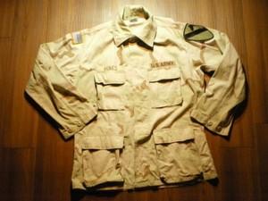 U.S.ARMY Coat Combat 3color sizeM-Short? used