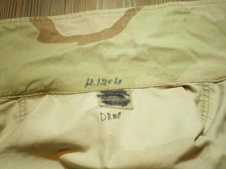 U.S.ARMY Coat Combat 3color sizeM-Regular? used