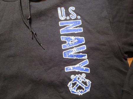 U.S.NAVY Hooded Parka sizeM used