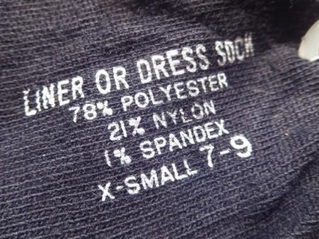 U.S.Socks (3pairs) sizeXS(24cm?) new