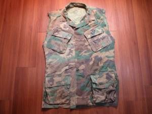 U.S.MARINE CORPS Vest CutOff 1969年sizeS-Long? used