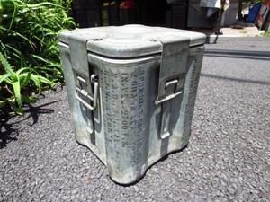 U.S.NAVY? Ammunition Box 1943年? used