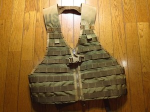 U.S.M.C. Vest MOLLEⅡLoad-Carrying Lightweight used