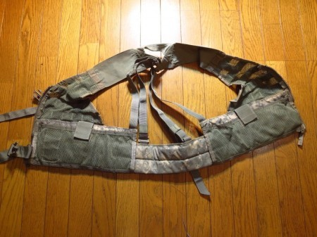 U.S.ARMY Vest MOLLEⅡLoad-Carrying Lightweight used