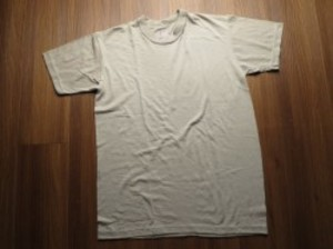 U.S.T-Shirt Sand Cotton/Poly sizeS new