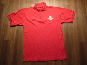 "U.K. Polo Shirt ""Royal Mail"" sizeM? used?"