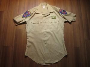 U.S.POLICE ACADEMY Utility Shirt sizeM used