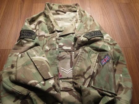 U.K. Jacket Combat MTP LightWeight sizeL? used