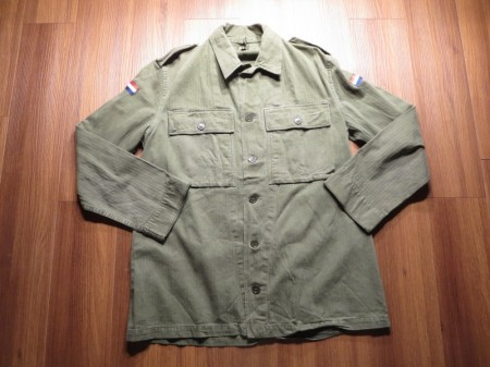 Holland Field Shirt HBT 1967年 sizeL? used