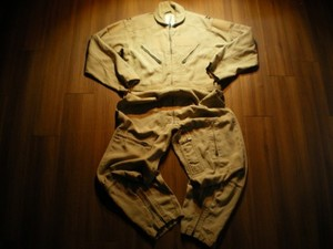 U.S.AIR FORCE Coveralls CWU-27/P TAN size42R used