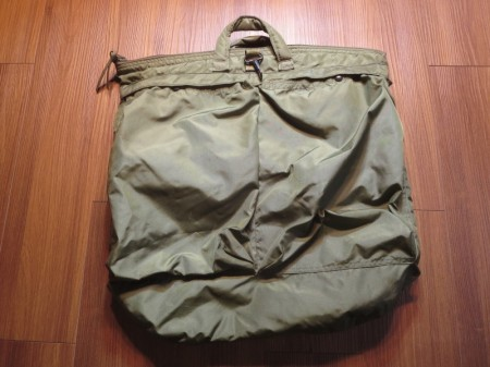 U.S.AIR FORCE Bag Flyer's Helmet 1989年 used