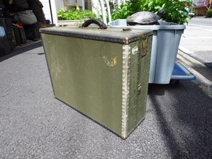 U.S.NAVY Trunk(Suit Case?) 1950-1960年代? used
