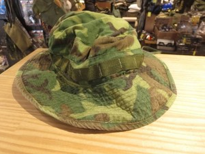 U.S.Camouflage Hat Tropical 1969年size7 3/8 used