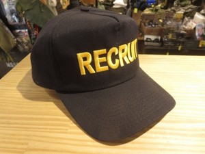 "U.S.NAVY Utility Cap ""RECRUIT"" used"