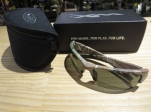 "U.S.WILEY X Sunglasses ""WX VALOR"" used"