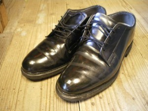 U.S.NAVY Service Shoes size9D used