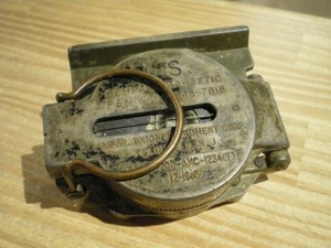 U.S.Compass Magnetic 1965年 used