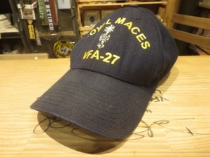 "U.S.NAVY Cap ""VFA-27 ROYAL MACES"" used"
