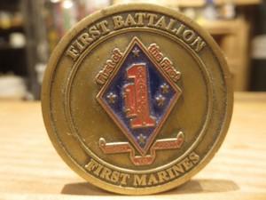 U.S.MARINE CORPS Challenge Coin used