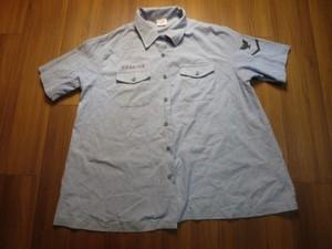 U.S.NAVY Shirt Chambray Women's Maternity sizeL