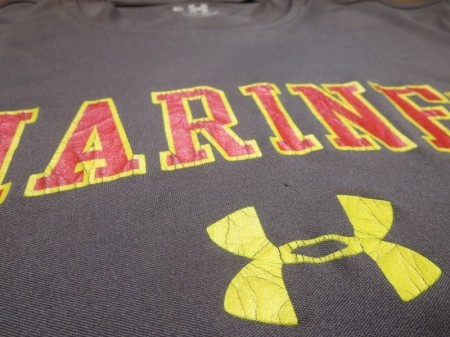 U.S.MARINE CORPS T-Shirt Athletic sizeM used