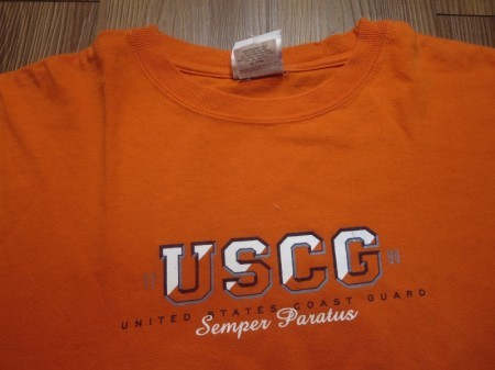 U.S.COAST GUARD T-Shirt sizeL used
