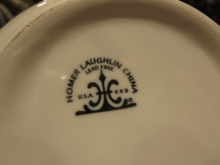 "U.S.ARMY Bowl Medical ""HOMER LAUGHLIN"" new?"
