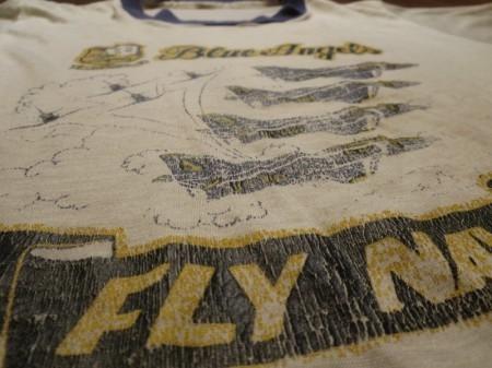 "U.S.NAVY T-Shirt ""BLUE ANGELS"" sizeM used"