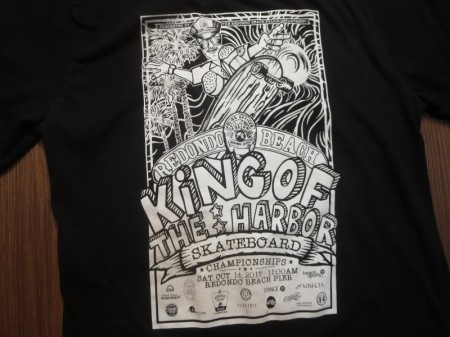"U.S.POLICE T-Shirt ""REDONDO BEACH FESTIVAL"" sizeS"