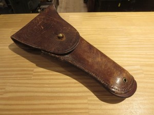 U.S.Holster Pistol Leather 1918年 (難あり) used
