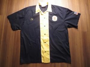 "U.S.AIR FORCE Bowling Shirt""16th AIRLIFT SQ""sizeXL"