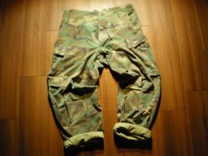 U.S.Trousers Hot Weather 100% Cotton 1981年 sizeM