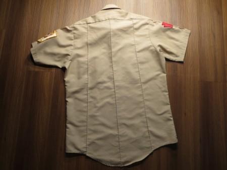 """U.S.ARMY Shirt Utility Kahki """"VFW"""" sizeM used"""