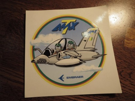 "EMBRAER STICKER ""AMX-T"""