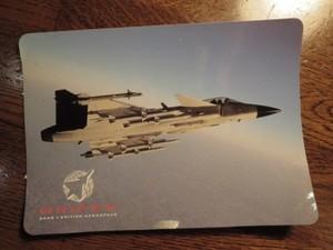 """""""SAAB JAS 39 Gripen""""STICKER"""