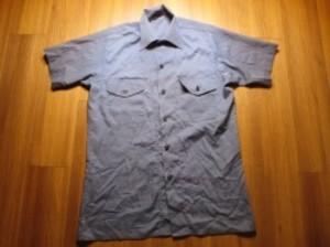 U.S.NAVY Utility Shirt 1977年 sizeS? used