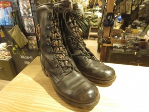 U.S.Boots Combat Leather 1987年 size8R used