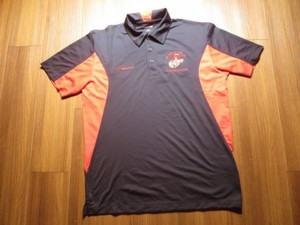 "U.S.MARINE CORPS Polo Shirt ""MCRD MUSEUM"" sizeM"