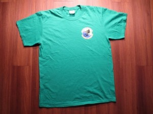 "U.S.AIR FORCE T-Shirt ""31st Aircraft ~"" sizeL used"