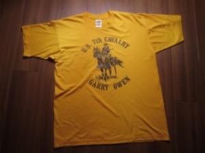 """U.S.ARMY T-Shirt """"7th CAVALRY REGIMENT"""" sizeXL"""