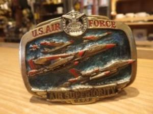 U.S.AIR FORCE Buckle 1983年 used