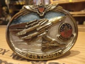 "U.S.NAVY Buckle ""F-14 TOMCAT"" 1988年 used"