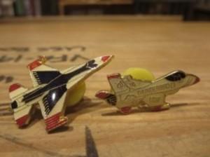 "U.S.AIR FORCE Pin Badges 1Pair ""THUNDERBIRDS"""