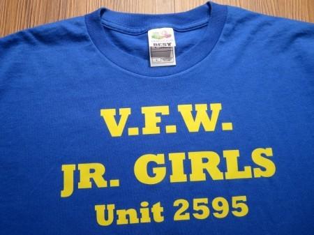 "U.S.T-Shirt ""V.F.W."" sizeL used"