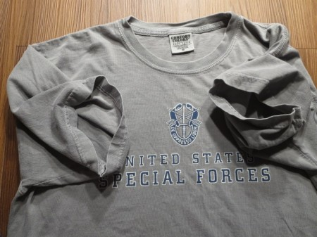 """U.S.ARMY T-Shirt """"SPECIAL FORCES"""" sizeM used"""
