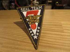 "U.S.NAVY Patch ""SEAL TEAM 7"""